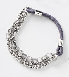 Chained Bracelet - Silver - adornable.u #jackiezjewels