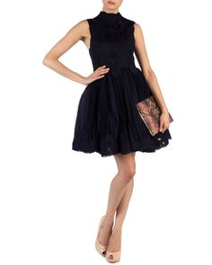 TELAGO - Lace embroidered dress | Ted Baker