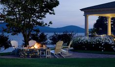 Outdoor Fireplaces Add Charm, Elegance & ROI to Any Yard | TMS Architects