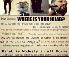Boys do some introspection before judging girls  #islam #muslim #Allah #Quran…