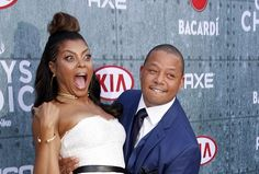 Taraji Henson & Terrence Howard at 2015 Spike TV Guys' Choice Awards, LA http://www.averagesocialite.com/2015/05/2015-spike-tvsguys-choice-awards-la.html