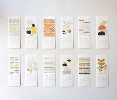2013 calendar by leah duncan Kids Calendar, Calendar Pages, 2021 Calendar, Graphic Design Magazine, Magazine Design, Monthly Planner Printable, Printable Calendar Template, Design Poster, Print Design