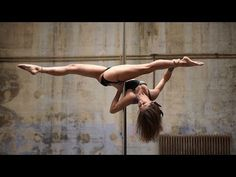This French Pole Dancer Shuts Down Any Stigmas With Her Gravity-Defying Moves