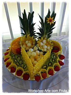(107) Arte com fruta e legumes