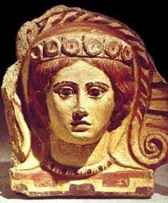 Etruscan Art,Menead Antifix,600 BC