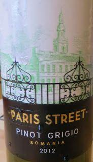 Paris Street Pinot Grigio 2012 – Golly's Wine Drops
