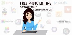 Want to edit your image online for free? Select from a comprehensive list of 20 free photo editing software tools and create a perfect image in quick time. Marketing Tools, Digital Marketing, Perfect Image, Your Image, Photo Editing, Software, Social Media, Create, Editing Photos