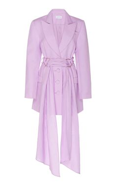 Significant Other Dahlia Linen-Blend Blazer Dress Kpop Fashion Outfits, Blazer Fashion, Casual Outfits, Fashion Dresses, Look Fashion, Girl Fashion, Fashion Design, Womens Fashion, Blazer Dress