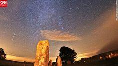 Lluvia de meteoritos Oriónidas la mañana de domingo en Wiltshire, Inglaterra