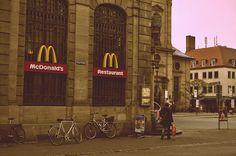 Erlangen, Germany I remember this McDonalds-TC Blueberry Milkshake, Mcdonald's Restaurant, Bavaria, Mcdonalds, Amazing Places, The Good Place, High School, To Go, Germany