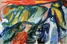 Asger Jorn: Im Flügelschlag der Schwäne, 1963