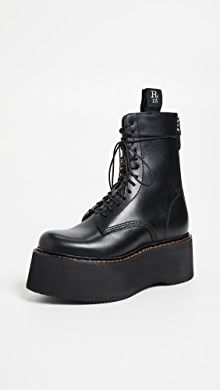 Stella McCartney Lace-Up Boots | SHOPBOP Ankle Boots Outfit Winter, Combat Boot Outfits, Combat Boots, Emo Girl Fashion, Fall Fashion, Womens Fashion, R13 Denim, Emo Girls, Denim Branding