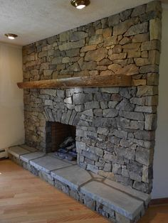 Incredible stone fireplace makeovers, stone pathways, walls, and Living Room Decor Fireplace, Fireplace Design, Fireplace Ideas, Stone Masonry, Stone Fireplaces, Fireplace Remodel, Fireplace Makeovers, Pellet Stove, Bbq Area