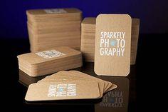 Cartões de visitas para fotógrafos - Assuntos Criativos