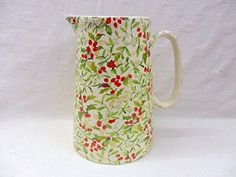 mistletoe 4 pint jug by Heron Cross Pottery Heron Cross Pottery http://www.amazon.co.uk/dp/B015YKJTIO/ref=cm_sw_r_pi_dp_4ljWwb0W1YBW0