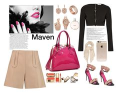 Maven by felicitysparks on Polyvore featuring polyvore fashion style Thierry Mugler Carven Oscar Tiye Dasein Invicta Georgia Perry FOSSIL Carolee Incase Isabel Marant Nude by Nature Chanel Dolce&Gabbana Balmain clothing