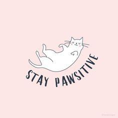 stay pawsitive.