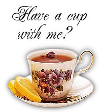 Have a cup with me?