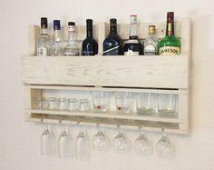 Estante del estante del vino, vino de la madera, estante del vino para la pared, reciclado de madera, decoración de la pared, decoración casera, tapices, regalos para hombres, regalo para novio por APT8ecodesign