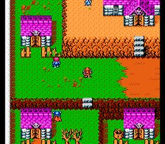 Gargoyle's Quest II - The Demon Darkness for Nintendo NES - Adventure game released in 1992 - The Video Games Museum has screenshots for this game