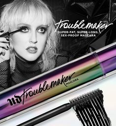 Get your hands on a/REE deluxe sample of Urban Decay's not-yet-released Troublemaker Mascara, so you can try it first – way before anyone else. Black Lashes, Broccoli Slaw, Free Stuff, Ways To Save, Trials, Urban Decay, Giveaways, Kylie, Mascara