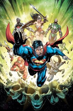 Justice League #39 cover by Jason Fabok and Brad Anderson