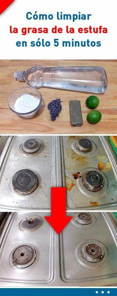 2 trucos sencillos para limpiar la grasa de la estufa en sólo 5 minutos