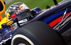 O campeonato começou pra Vettel.  Lá vem o alemão de novo...