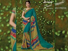 Buy this Stunning Multicolor Foil Work Georgette Saree with Blue Color Georgette Blouse along with Satin Silk Printed Lace by Laxmipati. Look fresh, look chic! Limited stock! 100% Genuine products! #Catalogue #SURMAI Price - Rs. 1731.00 Visit for more designs@ www.laxmipati.com #Sarees #ReadyToWear #OccasionWear #Ethnicwear #FestivalSarees #Fashion #Fashionista #Couture #LaxmipatiSaree #Autumn #Winter #Women #Her #She #Mystery #Lingerie #Black#Lifestyle…