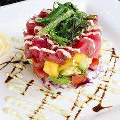 Ahi Tuna Salad at Villa Capri