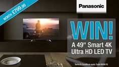 "#Panasonic 49"" Smart 4K Ultra HD LED TV competition - Winner: usthreebythesea"