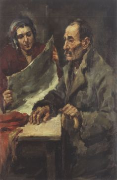 L'aveugle, 1931 by Spyros Vikatos – Municipal Art Gallery of Athens Name Paintings, Greek Paintings, 10 Picture, Greek Art, Gustav Klimt, Conceptual Art, Impressionist, Athens, Printmaking