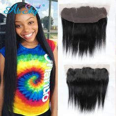 (111.10$)  Buy here  - Ear To Ear Lace Frontal Closure Mink Brazilian Straight Virgin Hair 13x4 Lace Frontal Soft 7A Brazilian Straight Hair Closure