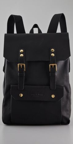 3a96f76bdf9a rag and bone mountain pack. wish it was all leather. Canvas Backpack