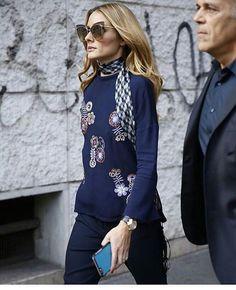 Olivia Palermo at Milan Fashion Week
