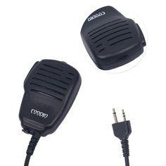 Coodio ML2MIC1 Midland Funkgeräte Lautsprechermikrofon 2 Pin Handmikrofon Lautsprecher Mikrofon [Lautstärkeregelung] Polizei Security Für 2-Pin Midland Stecker Walkie-Talkie PMR-Funkgeräte: Amazon.de: Navigation