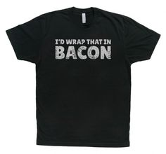 Who Wants a Bacon T-shirt? #giveaways