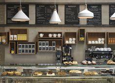 Cornerstone Cafe by Paul Crofts Studio, London - UK