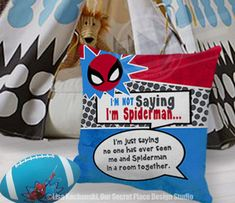 Im Not Saying Im Spiderman Pillow Superhero Throw Pillow Covers Playroom Decor for Kids Superhero Pillows Superhero Pillow Covers Kids Pillows Kids Room Decor Kids Decor Kids Bedding Superhero Room Decor Superhero Theme Room Superhero Playroom Ideas for Boys Room Decor Boys Pillows Boys Bedding Superhero Bedroom Kids Playroom Themes Boys Superhero Nursery Ideas Boys Spiderman Theme Bedroom Decor Boys Decor Boys Room Ideas Kids Room Ideas Spiderman Bedding Spiderman Bedroom by OurSecretPlace