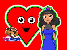 Princess Shapes Teaches - Red Heart, Yellow Start, Blue Square, Purple Circle, Green Triangle & More. Learn 10 Colors & 8 Shapes.