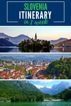 Make travel to Slovenia easy with this detailed itinerary for a one week trip. It includes tips and things to do in Ljubljana, several national parks, Lake Bled, and other fabulous destinations. It's my favorite European country for a reason!