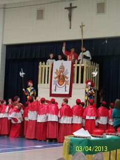 JUST TOO COOL! Catholic school children hold a CONCLAVE! PHOTOS! | Fr. Z's Blog (olim: What Does The Prayer Really Say?)