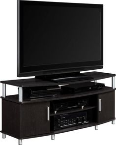 TV Stand Entertainment Components Shelves Media Furniture AV DVD Gaming Console #Altra