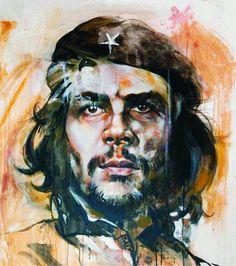 Ernesto Che Guevara, Painting, Communism, Cubs, Spanish, Art, English, Frases, Fotografia