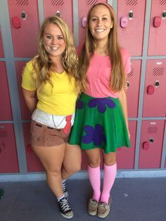 Spongebob and patrick costume More  sc 1 st  Pinterest : halloween friend costumes  - Germanpascual.Com