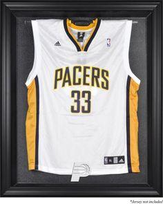 1b566395fed54 Indiana Pacers Black Framed Team Logo Jersey Display Case