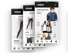 """Check out new work on my @Behance portfolio: """"B/wear // Italian Fashion Apparel - App And Website"""" http://be.net/gallery/54108665/Bwear-Italian-Fashion-Apparel-App-And-Website"""