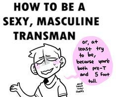Pink, White, and Blue — How can I feel more masculine? Pink, White, and Blue — How can I feel more masculine? Transgender Tips, Trans Boys, Trans Art, Trans Rights, Get Reading, Cute Gay, Memes, Pride, Feelings