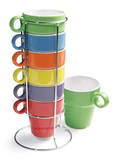 7 Piece Stacking Rainbow Mug And Stand Set Collections Etc,http://www.amazon.com/dp/B004FJVSLC/ref=cm_sw_r_pi_dp_SOmFtb0TBB6M0HW4