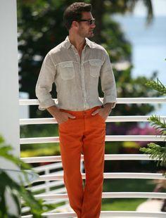 """120% Lino Updates 5-Pocket Linen """"Jeans"""" for Men! - http://120linousa.com/120-lino-updates-5-pocket-linen-jeans-for-men/"""